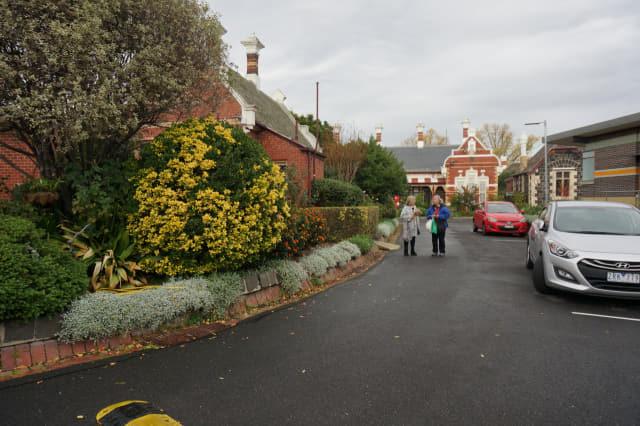 루셸파크(Rushall Park) 전경. 노인들이 독립적으로 살 수 있는 주택들이 모여 있는 공동체다.