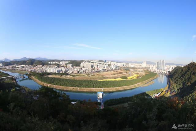 태화강 국가정원 전경/울산시 제공/