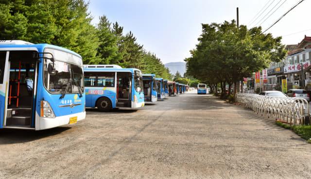 창원시 성산구 대방동 종점 시내버스 회차지 전경./전강용 기자/
