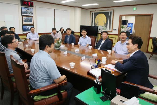 사천시는 18~19일 이틀간 사천시 일원에서 사천에어쇼 발전을 위한 관계기관 워크숍을 개최했다./사천시/