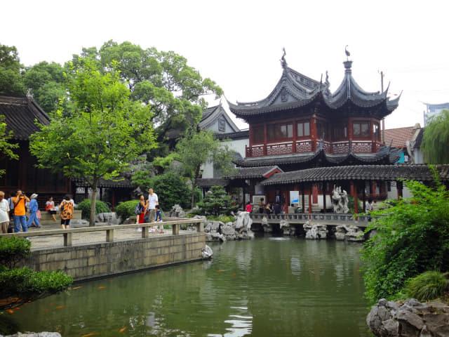 중국 전통 남방식 정원 '예원'