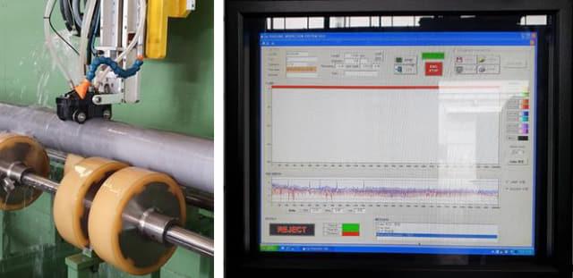 재료연구소가 개발한 초음파를 이용한 파이프 두께 측정 관리 시스템./재료연구소/