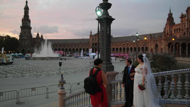 스페인 광장.