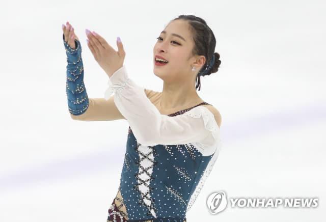 챌린저 시리즈에서 동메달을 획득한 유영./연합뉴스/