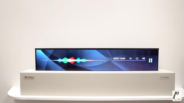 LG 롤러블 OLED TV