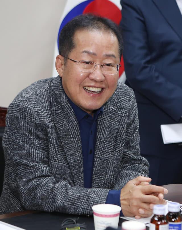 홍준표 전 자유한국당 대표.