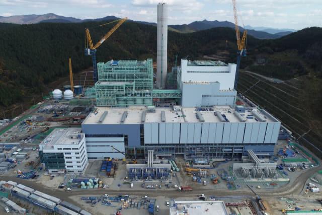 고성하이발전 1·2호기 건설현장 전경-허충호