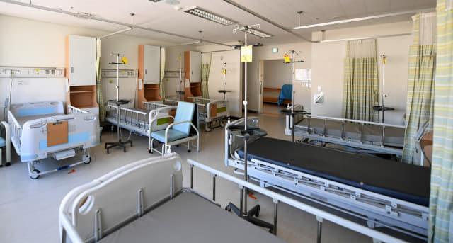 창원시 마산합포구 마산의료원이 코로나19 지역 전담병원으로 지정됐다. 23일 입원환자 퇴원한 병실이 비어 있다./마산의료원/