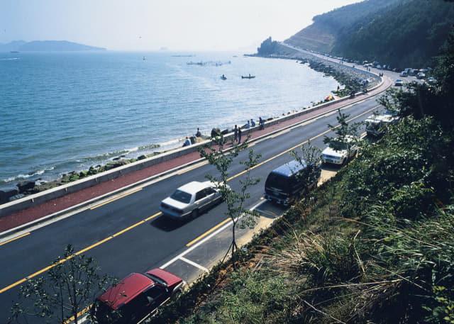 진해 해안관광도로