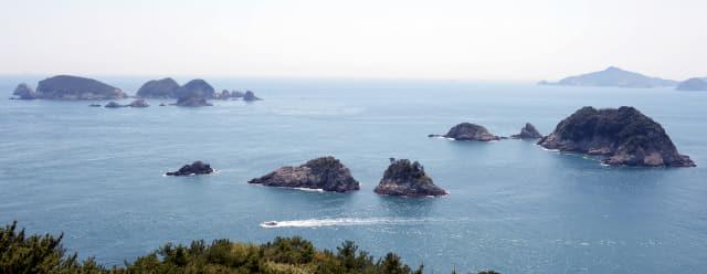 거제 해안도로에서 바라본 풍경