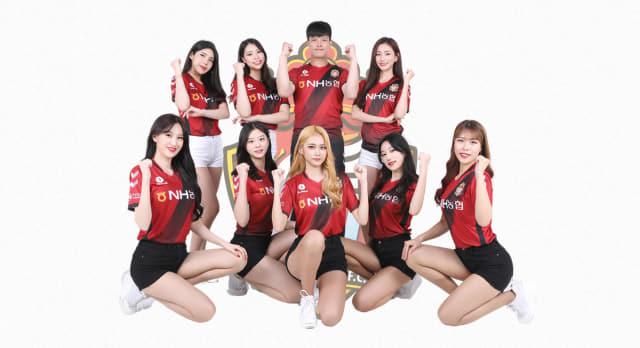 2020시즌 경남FC의 치어리더 팀 '루미너스' /경남FC/