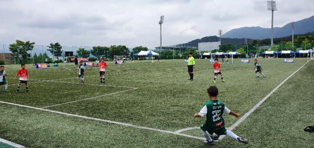 지난 4일 창원 축구센터에서 열린 i-league./창원시축구협회/