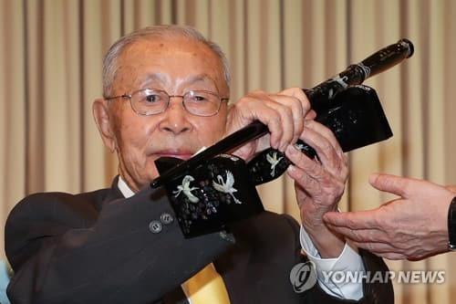 백선엽 장군 별세, 향년 100세 [연합뉴스 자료사진]
