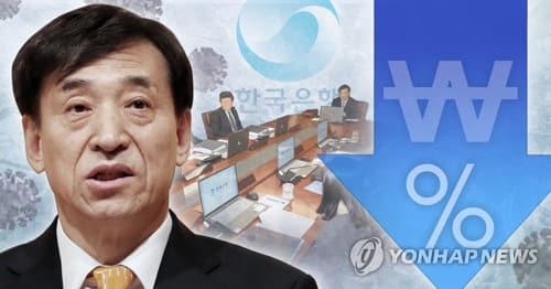 한국은행 금융통화위원회 개최 (PG) [연합뉴스]