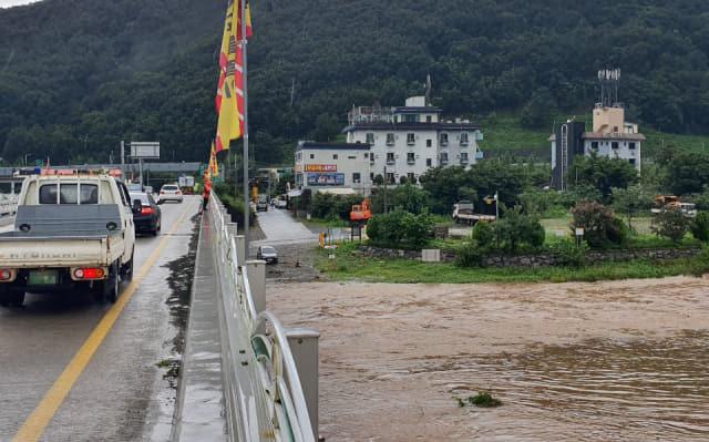 밀양 산내면서 배수로를 정비하던 50대 남성이 실종됐다.