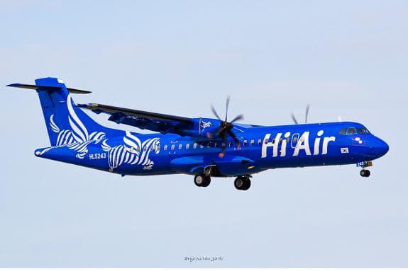 하이에어가 사천공항에 투입할 예정인 소형 프로펠러 항공기./사천시/