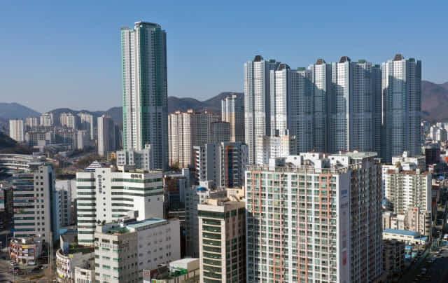 창원시 마산회원구 아파트단지./김승권 기자/