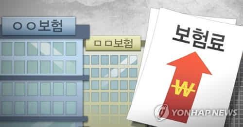보험료 인상 (PG) [연합뉴스]