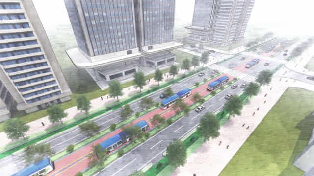 S-BRT 구상도.