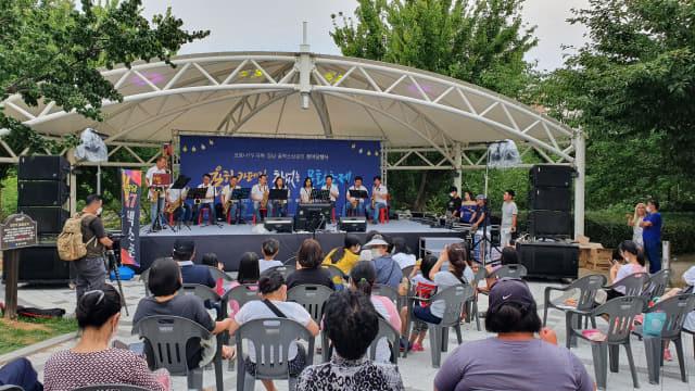 지난해 6월 율하발전협의회가 주최한 코로나 극복 한마당 행사