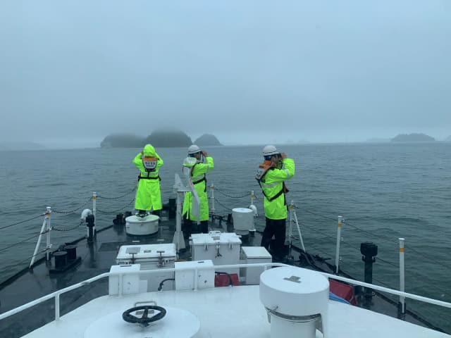 16일 창원해경이 진해 초리도 인근 해상에서 실종된 50대 다이버를 수색 중에 있다. /창원해양경찰서/