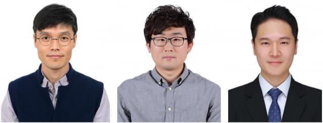 재료연구원 최승목(왼쪽부터) 박사, 양주찬 박사, 정재훈 연구원./재료연구원/