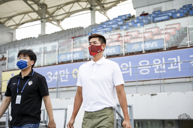설기현 경남FC 감독.
