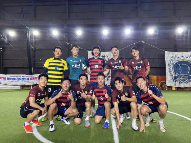 경남FC 축구 웹 예능 '뎀비고, 슛'이 29일 첫 공개됐다./경남FC/